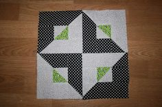 """Get the Point"" block from The Cozy Quilter: October 2011"