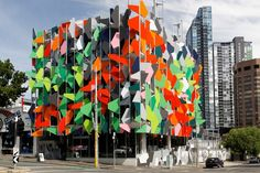 Melbourne's Pixel Building is a flashy example of green architecture. Designed by the Australian-based firm Studio505, the structure uses an intricate assembly of recycled colored panels to provide its occupants with maximized light control. It was thanks to such forward-thinking features that Pixel Building successfully became Australia's first carbon-neutral structure.