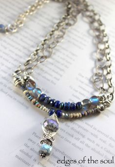 ON SALE necklace lapis necklace lapis lazuli by soulfuledges