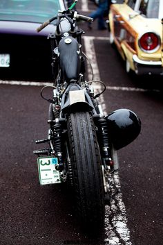 Bobber and Chopper motorcyles and tattoos