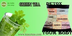 Green Tea Detox, Detox Tea, Green Tea Benefits, Artichoke, Human Body, Asparagus, Sprouts, Fruit, How To Make