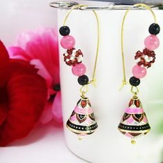 Get the gorgeous earrings from MK Jewellers.