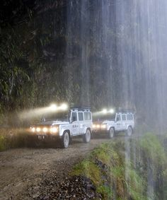 Under the Waterfall: Bolivia
