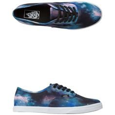 5cfc62cfcf1f Vans Cosmic Galaxy Authentic Lo Pro Shoe found on Polyvore featuring shoes
