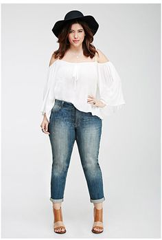 Love this #boho outfit! Is plus size girls are #bohochic too! Lol!