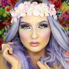 How to appy fairy makeup step by step fairy makeup idea 15 winter themed fantasy makeup looks ideas 2016