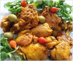 Blog onde compartilho minhas receitas caseiras com vocês, pois tenho o prazer de fazê-las e compartilha-las. Canola Oil, Coriander, Tandoori Chicken, Carne, Chicken Wings, Parsley, Cooker, Chicken Recipes, Good Food