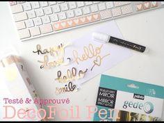 Scrap Inside: Le DecoFoil Pen (Review) - YouTube