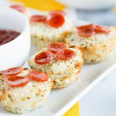 For a healthy pizza recipe, you must try these cauliflower bites. This low-calorie, low-fat, low-sodium recipe is everything you wanted in a skinny snack!
