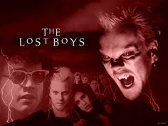 The Lost Boys was one of my favorite movies from the 80's. I guess this paved the way for my enjoyment of the Twilight book series.