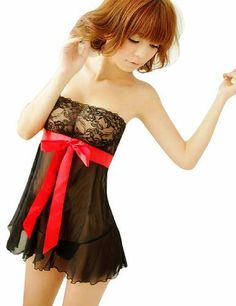 Masione Black Women Lingerie Babydoll Dress+ G-string 2pcs Set by Masione, http://www.amazon.co.uk/dp/B00FMLGWKO/ref=cm_sw_r_pi_dp_L5xrtb1JYAQXR