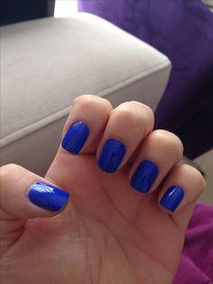 Esmalte da semana! #frionabarriga #nail #esmaltedasemana #bluenail nail art. Frio na barriga