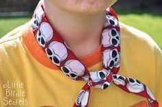 Neck cooler for the warm weather coming. Easy to make.