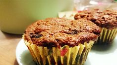 Fa's Fab Oatmeal Muffins. Ideal post workout snack.