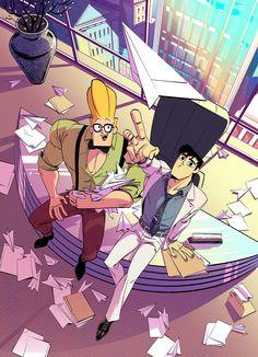 Cartoon As Anime, Cartoon Ships, Manga Anime, Cartoon Games, Cartoon Styles, Cartoon Art, Samurai Jack, Samurai Bravo, Old School Cartoons