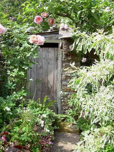 Secret Garden I | Flickr - Photo Sharing! - One corner of a small secret garden in Eyam, Derbyshire UK