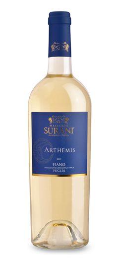 Masseria Surani Arthemis Fiano Puglia IGT #fiano #wine #Tommasiwine #MasseriaSurani www.tommasi.com
