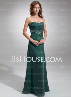 Prom Dresses - $138.88 - A-Line/Princess Sweetheart Floor-Length Chiffon Prom Dresses With Ruffle Beading (018005351) http://jjshouse.com/A-Line-Princess-Sweetheart-Floor-Length-Chiffon-Prom-Dresses-With-Ruffle-Beading-018005351-g5351