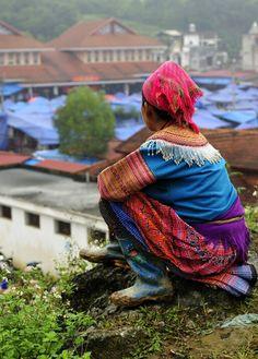 Mirando el mercado, Bac Ha