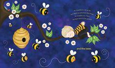 L'abeille  Quand j'inspire, je suis assis bien droit et étends mes bras vers l'arrière comme des ailes.  Quand j'expire, je fais bzzz la tête penchée vers le bas.