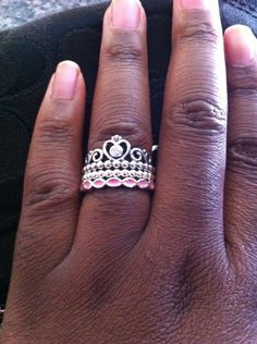 c42fc0a57 My Princess $45, Cloud 9 $35, Better Together Pink Enamel $35 Pandora Rings,