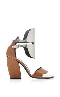 Scarpa leather open heels by PIERRE HARDY