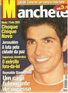 revista manchete-reynaldo gianecchini-laços de familia