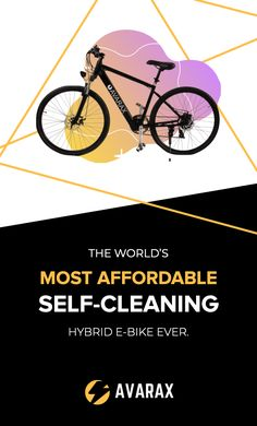 Avarax e is an electric bike that is self-cleaning and very affordable. This bike has Start from $499 to $699 with 3 models available. Avarax e is currently getting funded on Indiegogo and raised more than 35K only in 2 days. People are loving it because of its great specification and affordability. Electric Power, Cool Bikes, Long Distance, Mobile App, Keep It Cleaner, Meant To Be, Gadgets, Self, How To Remove
