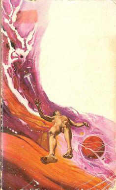 1969 cover art by John Faragasso for John Lymington's 'The Sleep Eaters'