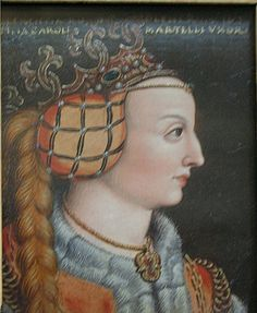 Clementia (Klementia) (ca. 1262 – after 7 February 1293) - fifth daughter of King Rudolf. Married 1281 in Vienna to Charles Martel of Anjou, the Papal claimant to the throne of Hungary and mother of king Charles I of Hungary, as well as of queen Clementia of France, herself the mother of the baby king John I of France.
