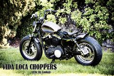 Sportster Harley Sienne Designed by Vida Loca Choppers in 2013 Kustom, Choppers, Motorcycle, Blog, Design, Siena, Chopper, Motorcycles