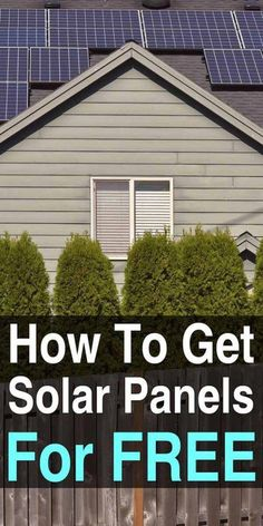 Going solar energy is all the rage these days with huge monetary incentives fueling the fire. Here's a little trick to write off an additional part of your solar energy system purchase. Free Solar Panels, Solar Energy Panels, Best Solar Panels, Solar Roof Tiles, Solar Projects, Energy Projects, Outdoor Projects, Wood Projects, Solar Panel Installation