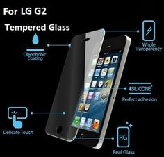 1 X Tempered Glass Screen Protector Lcd Guard Film For Iphone 4 Iphone 5c, Apple Iphone 5, Samsung Galaxy S5, Galaxy S8, Galaxy Note, S5 Mini, Screen Guard, Best Smartphone, Tempered Glass Screen Protector