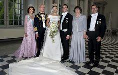 ... oficiales de la boda de Victoria de Suecia y el príncipe Daniel