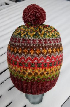 Fair Isle Knitting, Yarn Crafts, Mittens, Headbands, Knitted Hats, Knit Crochet, Projects To Try, Beanies, Knits