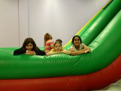 Upper school members of the Linden Hall Student Council took their 5th and 6th grader peers out for an evening of bouncing at That Bounce place!