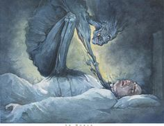 Sleep Paralysis- Sleep paralysis is paralysis associated with sleep that may occur in healthy persons or may be associated with narcolepsy, cataplexy, and hypnagogic hallucinations. The pathophysiology of this condition is closely related to the normal hypotonia that occurs during REM sleep. Some evidence suggests that it can also, in some cases, be a symptom of migraine.