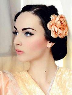 Incredible Vintage Makeup Hair Flawlessfacesinc Com Pinterest Short Hairstyles Gunalazisus