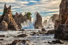 Pantai Gigi Hiu / Pegadung, Lampung Photo by Kristianus Setyawan � National Geographic Your Shot