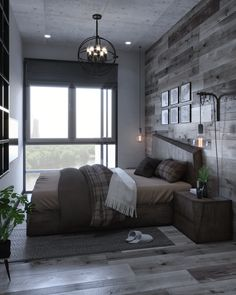 Here are the Small Apartment Interior Design Ideas. This article about Small Apartment Interior Design Ideas was posted under the … Modern Small Apartment Design, Small Apartment Bedrooms, Modern House Design, Small Apartments, Design Apartment, Apartment Plans, Industrial Interior Design, Home Interior Design, Industrial Bedroom Decor