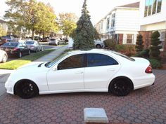 Mercedes-Benz E320 (W211) - E63 AMG LOOK - #mbhess #mbtuning, #mbcars