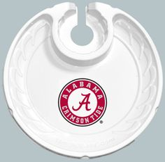 Alabama Crimson Tide Box of 6 Plastic Party Plates Alabama Logo, Alabama Vs, Alabama Crimson Tide, Stemless Wine Glasses, Drink Holder, Party Plates, Roll Tide, Plate Sets, Tailgating