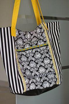 Pepelinchen: Taschenspieler Sew Along - 4. Woche: Markttasche