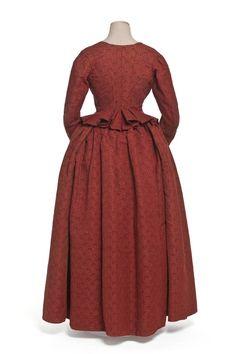 robe en 2 parties, corsage, jupe | Les Arts décoratifs