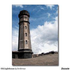 Alter Leuchtturm Postkarte
