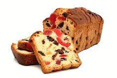V troubě upečený sladký chlebíček z mouky, vejce, cukru, másla, medu, mléka a kandovaného ovoce.