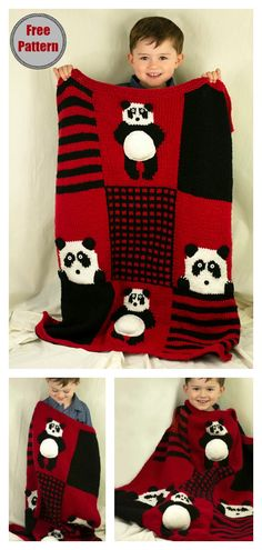 This creative Panda Bear Snuggle Sack Free Knitting Pattern makes a great gift for kids who adore animals. Easy Knitting Projects, Knitting Blogs, Easy Knitting Patterns, Baby Patterns, How To Start Knitting, Knitting For Kids, Free Knitting, Baby Knitting, Crochet Granny Square Afghan