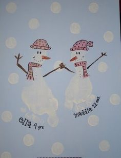 cute christmas ideas for grandparents and/or cards