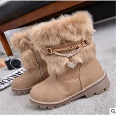 Top Selling leather winter snow boot – toocuteforme Baby Boy Shoes d7cbaa905c9d