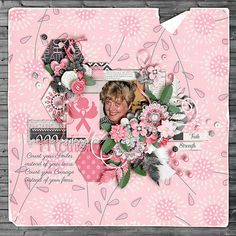 Template: Fun with shapes V2 - Crystal Livesay  Kit: I am a Warrior - Oohlala Scrap  Font: Parisienne